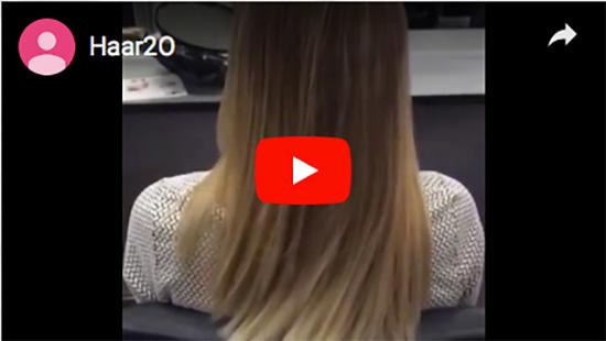 Haarfarbe, Balayage Färbetechnik aus  Untereisesheim