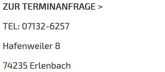 Flechtfrisur in Erlenbach